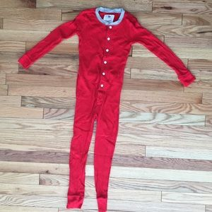 Crew cut red pajama